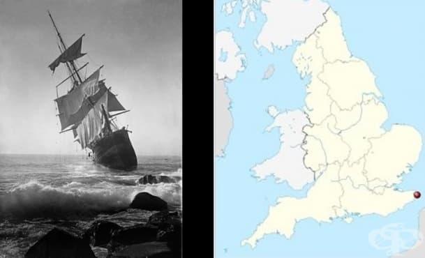 Лейди Ловибонд: призрачният кораб, който се появява на всеки 50 години - изображение