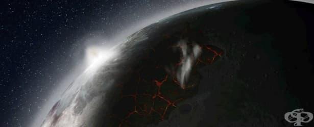 Луната някога също е имала атмосфера - изображение