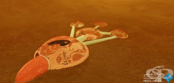 Обединените арабски емирства ще строят град на Марс - изображение