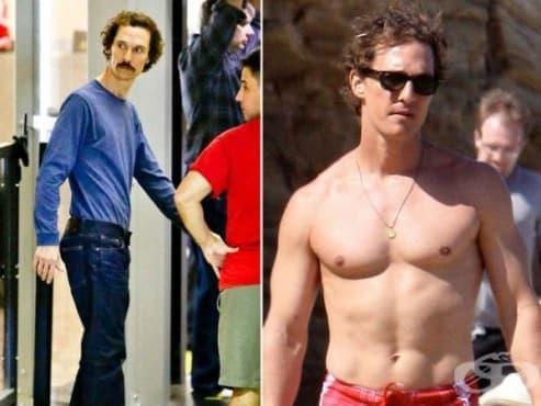 9 холивудски звезди, които рязко променят тялото си за роли – II част - изображение