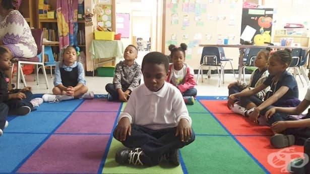 Училище в Балтимор заменя наказанията с медитация и йога - изображение