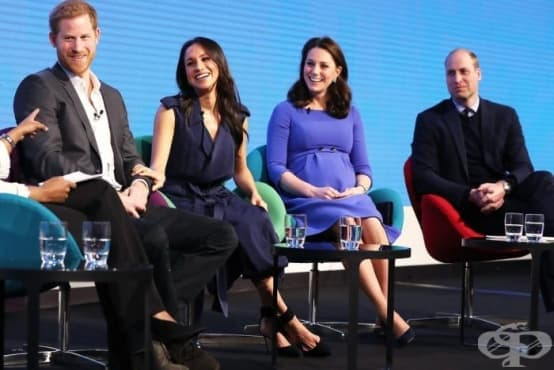 Меган Mаркъл говори в подкрепа на Metoo по време на първата си официална поява с Уилям, Кейт и Хари - изображение