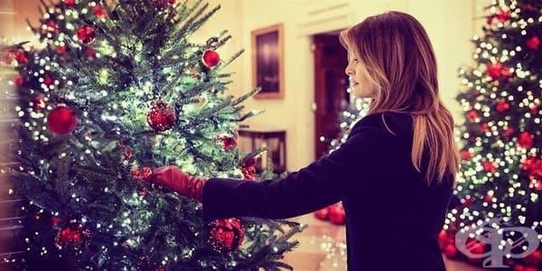 Коледна приказка в Белия дом: Мелания Тръмп в главната роля - изображение
