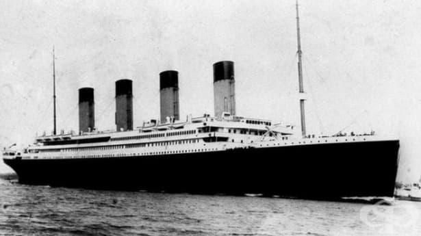 Менюто от първия обяд на Титаник продадено на търг във Великобритания - изображение
