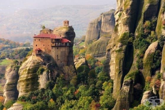 Висящите във въздуха манастири на Метеора - изображение