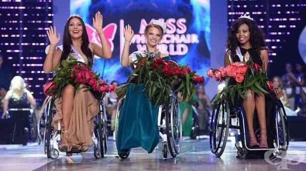 За първи път: Избраха Мис Свят на инвалидна количка - изображение