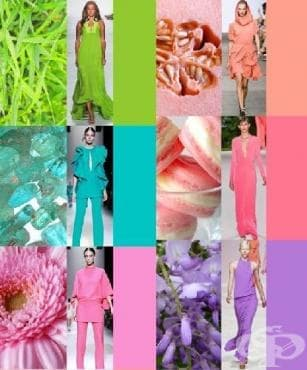 Модерните цветове, пролет-лято 2014 - изображение