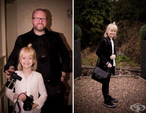 Момиче на 9 години  е най-търсеният сватбен фотограф в Шотландия - изображение