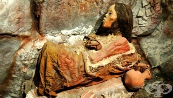Ледената девица Хуанита  – една от най-добре запазените мумии в света - изображение