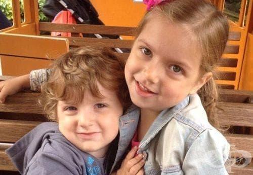 5-годишно момиченце се грижи за нелечимо болното си братче, за което се очаква, че няма да доживее 20 години - изображение