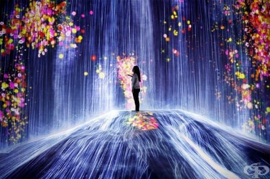 Интерактивен музей за дигитално изкуство отваря в Токио - изображение