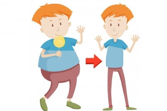 Наднормено тегло при децата - изображение