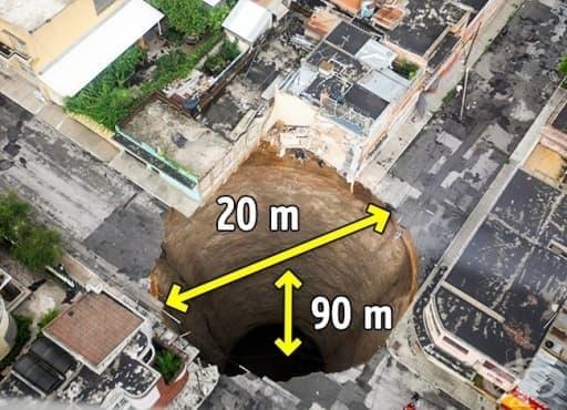 12 гигантски ями, които ще ви накарат да ахнете - изображение