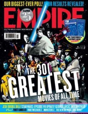 301 най-велики филми на всички времена - класация на читателите на Empire от 2014 година (част 1: 301-151) - изображение