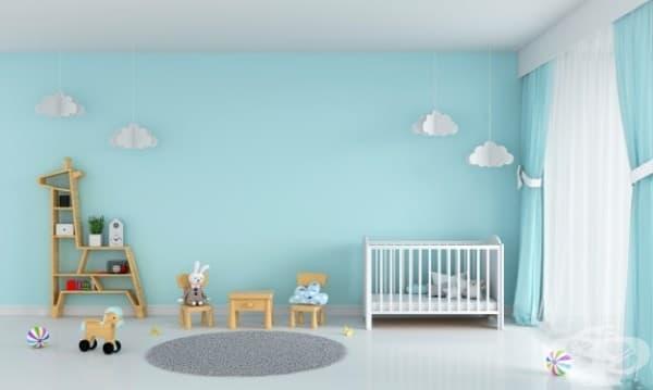 Защо осветлението, звукът и цветът на стените са важни за една детска стая - изображение