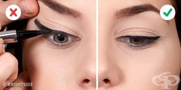 10 грешки, които съсипват очната ви линия - изображение