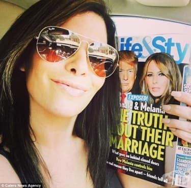 Онкоболна жена плати 50 хиляди долара, за да изглежда като Мелания Тръмп - изображение