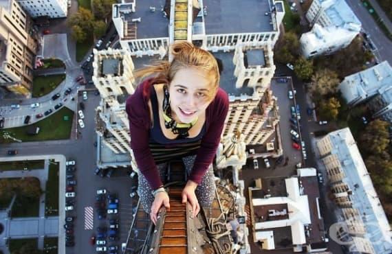 Ангела Николау – момичето, което заснема най-рискованите селфита (Не го пробвайте сами) - изображение