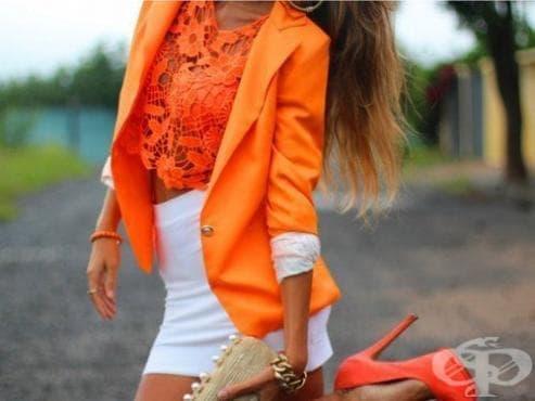 6 свежи начина, с които да вмъкнете оранжевото в гардероба си през лятото - изображение