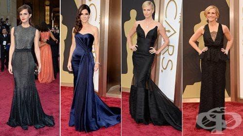 Най-доброто от модата на Оскари 2014. Вижте звездите на червения килим - част 2 - изображение