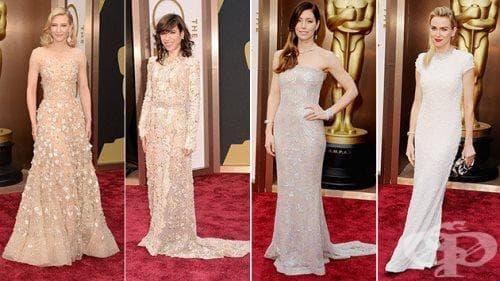 Най-доброто от модата на Оскари 2014. Вижте звездите на червения килим - част 1 - изображение