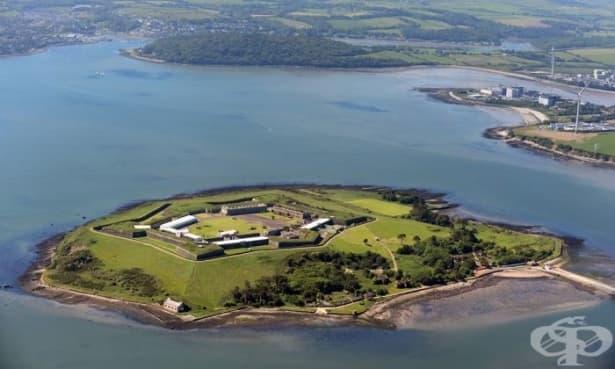 Ирландският Алкатрас: остров Спайк в Корк - изображение