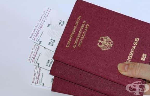 Защо задграничните паспорти по света са само 4 цвята? - изображение