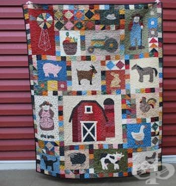 Пачуърк - креативно хоби за хората с малко свободно време и афинитет към шиенето - изображение
