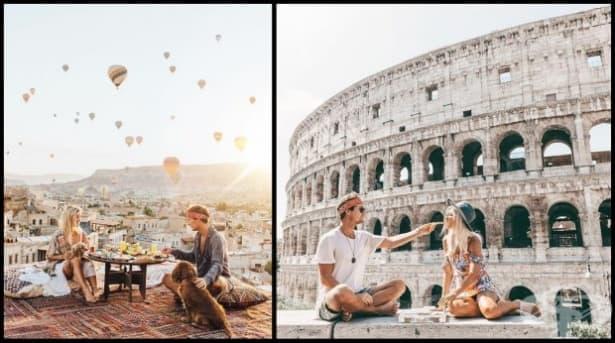 Тази двойка печели по $ 9000 от Инстаграм на снимка от пътуване. Ето как! - изображение