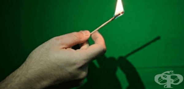 Защо пламъкът няма сянка? - изображение