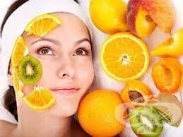 Плодови маски за лице срещу акне - изображение