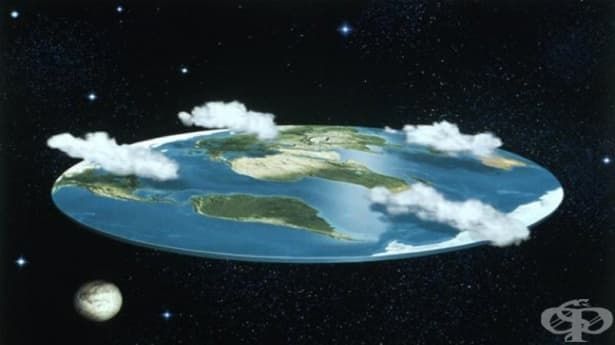 Как щеше да изглежда животът на Земята, ако тя беше плоска - изображение