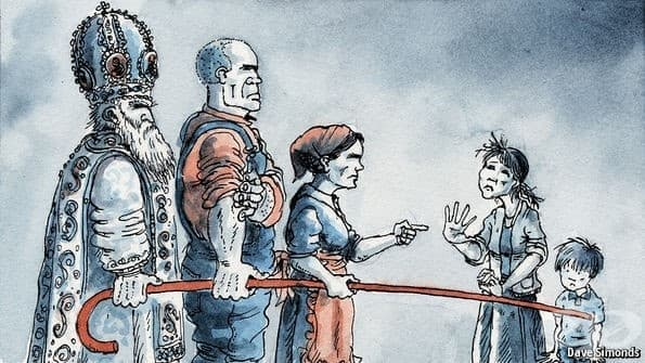 Защо руският парламент позволи на мъжете да бият жените си? - изображение