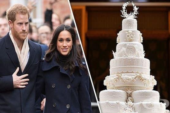 Био торта – нетрадиционният избор на принц Хари и Меган за сватбения им ден - изображение