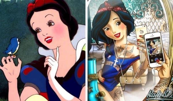 Принцесите на Дисни като лоши момичета - изображение