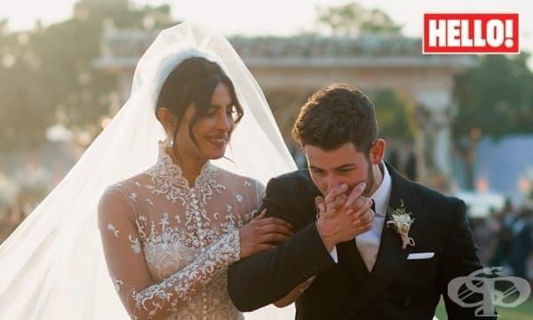 Завинаги започва от сега: Тридневната бляскава сватба на Приянка Чопра и Ник Джонас - изображение