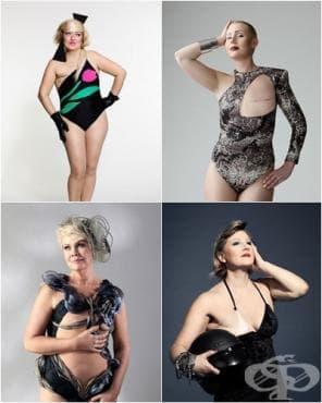 Жени, преживели рак на гърдата, станаха рекламни лица на бански костюми за жени с мастектомия - изображение