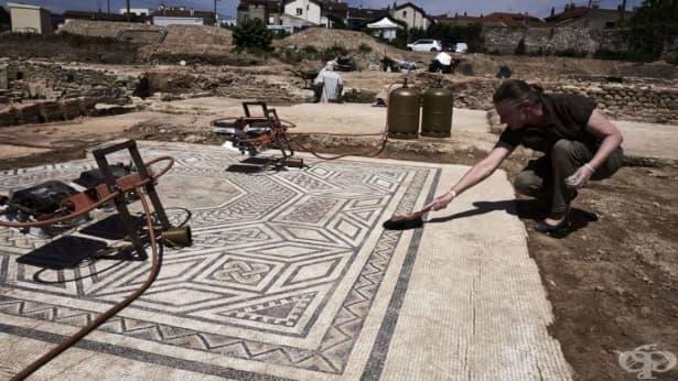 Във Франция разкопават Малък Помпей - изображение