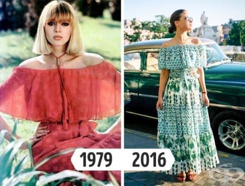 11 дрехи, които се завръщат на мода от 70-те и 80-те години - изображение