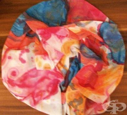 Рисуване върху коприна - любимото хоби на Тифани Кънева - изображение
