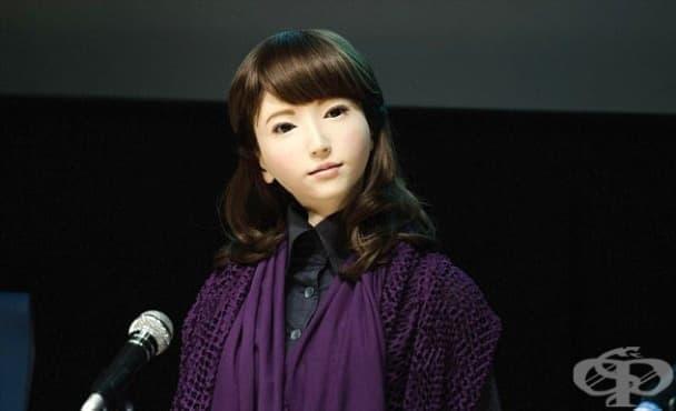 Робот влиза в ролята на водещ по японска телевизия - изображение