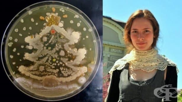 Българката Росица Ташкова е първият биолог в света, който рисува с микроорганизми - изображение