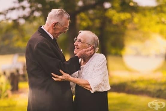 Заедно завинаги: Възрастна двойка отпразнува 65 години съвместен живот - изображение