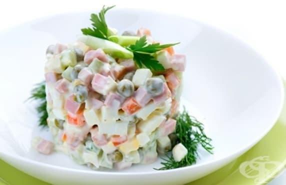 Учени: Без кисели краставички в руската салата - изображение