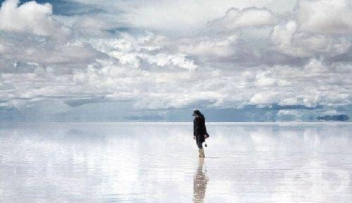 Салар де Уюни - едно от най-големите огледала в света - изображение
