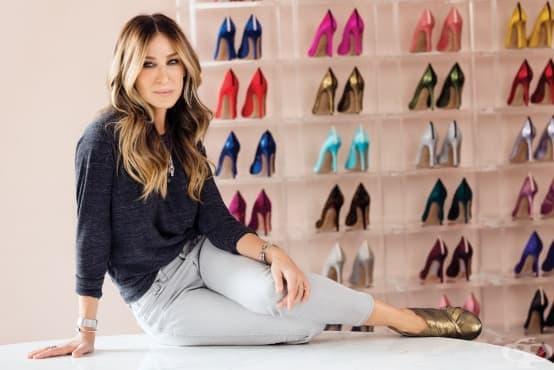 """Сара Джесика Паркър нарече тези обувки """"кецове""""?! - изображение"""