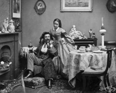 Съвети за успешен брак от викторианските дами - изображение