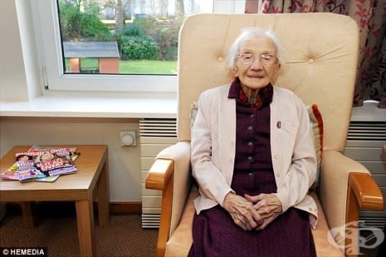 Никакви мъже и много овесена каша – щастието според една 109-годишна шотландка - изображение