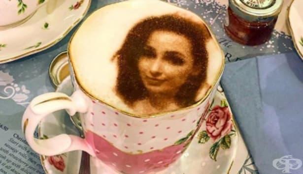 Селфичино – чаша кафе с вашия образ - изображение