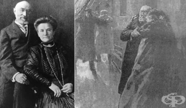 Неугасващата любов и саможертва на семейство Щраус на борда на Титаник - изображение